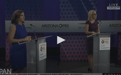 FULL VIDEO: Arizona Senate Debate