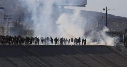 Democrats Use Tear Gas Image as Sentimental Weapon to Avoid Clearheaded Immigration Debate