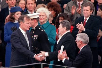 Commentary: My Unforgettable Lunch With President Bush