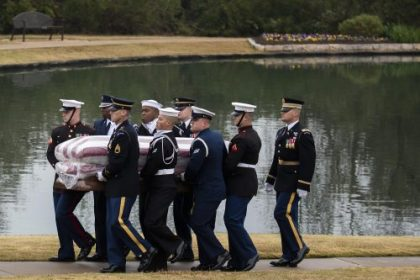 President George H.W. Bush Laid to Rest at His Presidential Library in Texas