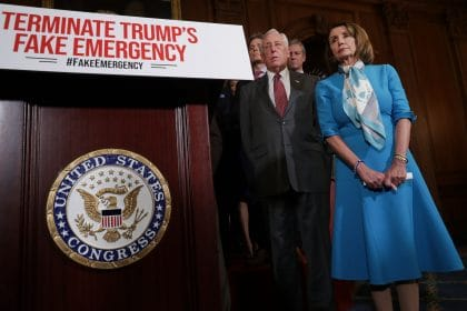 House Passes Resolution Overturning Trump's Border Emergency Declaration