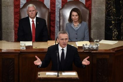 NATO Chief Stoltenberg Says 'Political Unity Matters'