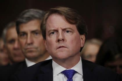 House Judiciary Committee Subpoenas Former White House Counsel McGahn