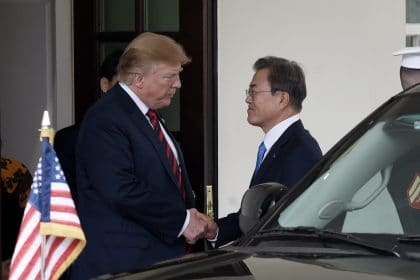 South Korean Leader's Visit Highlights Trump's Stalled Nuclear Talks With Kim Jong Un