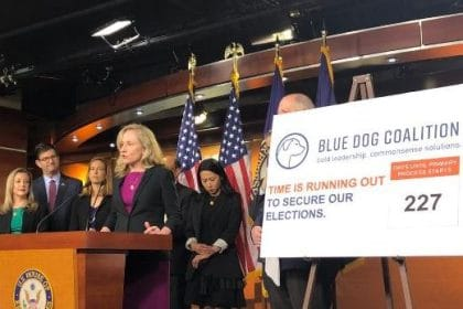 Blue Dogs Seek to Secure U.S. Elections, Deter Future Interference
