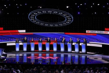 At Debate, Warren and Sanders Spar With Centrists Over Party Direction, How to Beat Trump