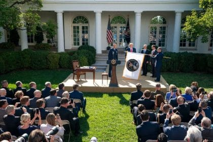 Trump Declares New Space Command Key to American Defense