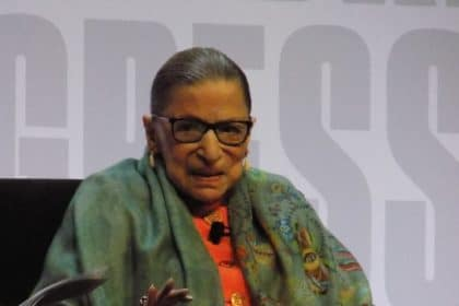 Ginsburg Slams Partisan Gerrymandering Before Record Book Fest Audience