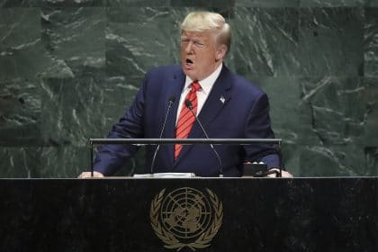 Trump Hits China and Iran In Subdued Speech to UN