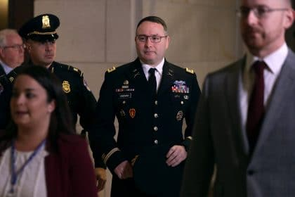 Army Officer Gives Democrats Fresh Ammunition on Trump and Ukraine