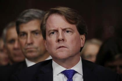 Don McGahn Subpoena Case Set for Jan. 3 Appeals Court Hearing