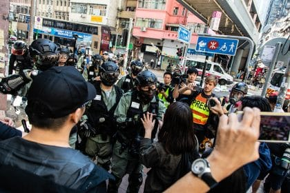 The Hong Kong Police Gunshot That Unleashed a Day of Mayhem