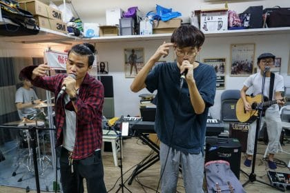 From Pimples to Politics: A Hong Kong Boy Band Takes on China