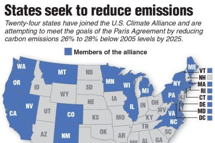 Paris Disagreement: States Split on Climate, So US Will Miss Emissions Target