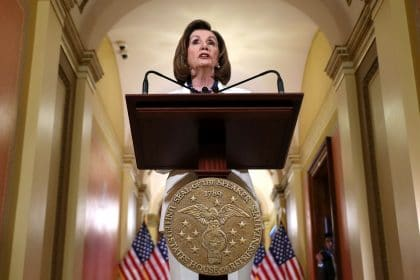 Pelosi Rebukes Reporter Who Asked If She and Democrats 'Hate' Trump