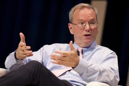 Former Google CEO Warns Congress About U.S. Losing Technology Lead