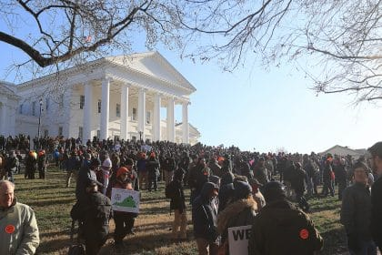 Protest of Virginia's Proposed Gun Laws Ends Peacefully