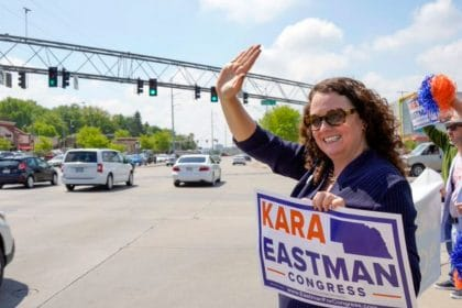 In Nebraska's 2nd District, Kara Eastman Gets Rematch With Rep. Don Bacon