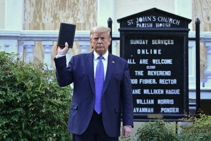 Top General Apologizes for Taking Part in Trump Photo at Church