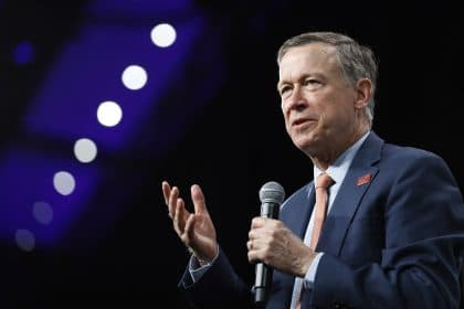 Hickenlooper Holding On To Double Digit Lead In Colorado's US Senate Primary