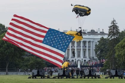 For Nation's Birthday, Trump Stokes the Divisions Within US