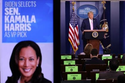 'Extraordinarily Nasty': Trump and His Campaign Launch Swift Attack on Kamala Harris