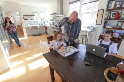 Parents Turn To Homeschooling As Schools Go All-Virtual