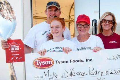 At Tyson Foods, Pandemic Inspires Massive Effort to Address Food Insecurity