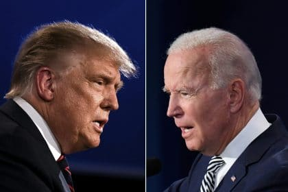 President Trump's Town Hall Turns Contentious; Joe Biden Focuses on Policy
