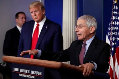 Trump Suggests to Supporters Dr. Fauci Will Be Fired After Election