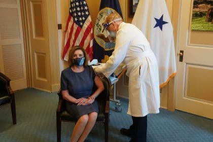 Pelosi, Hoyer, Pence All Receive First Dose of Coronavirus Vaccine