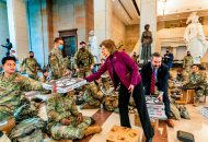 We The Pizza, Others Providing Comfort Food to National Guard Protecting Capitol