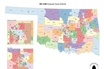 Oklahoma Legislature Approves New State District Map