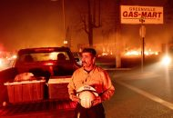 Fire Engulfs Northern California Town, Leveling Businesses